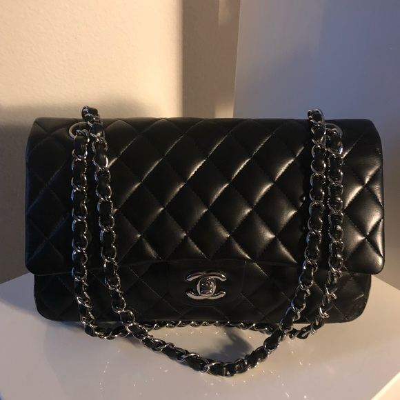 82e487e1169a CHANEL Bags | Sold Auth Ml Lambskin Shw Double Flap | Poshmark